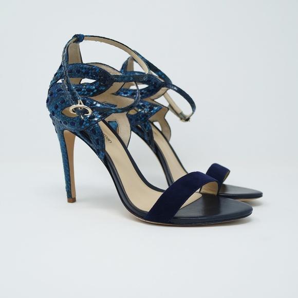 af502724ccb Alexandre Birman Shoes - Alexandre Birman Snakeskin Flora Cutout Sandals